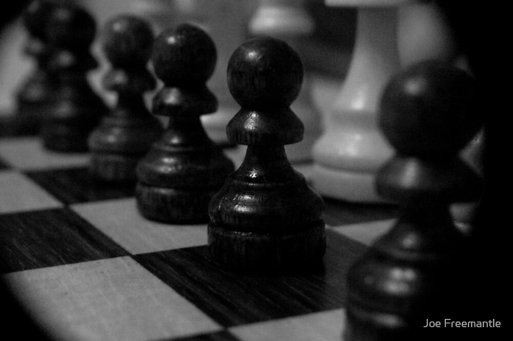 Chess Board by Joe Freemantle