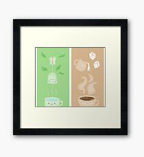 Tea or Coffee? Framed Print