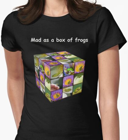 Mad as a box of frogs - darks T-Shirt