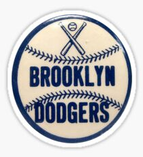 brooklyn dodgers  Sticker