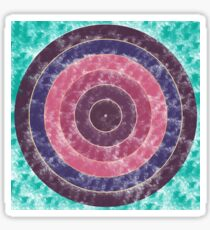 Abstract Circles Sticker