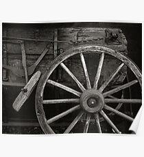 Wagon Wheel Poster