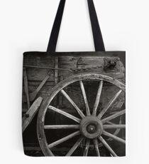 Wagon Wheel Tote Bag