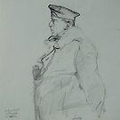 WW2 German general. by Mike Jeffries