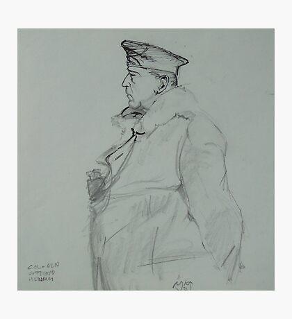 WW2 German general. Photographic Print