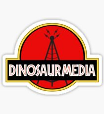 Dinosaur Media Sticker