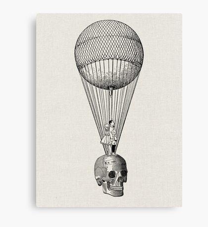 EN LA VIDA COMO EN LA MUERTE (In life as in death) Canvas Print