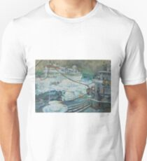 Refuelling at sea. Unisex T-Shirt