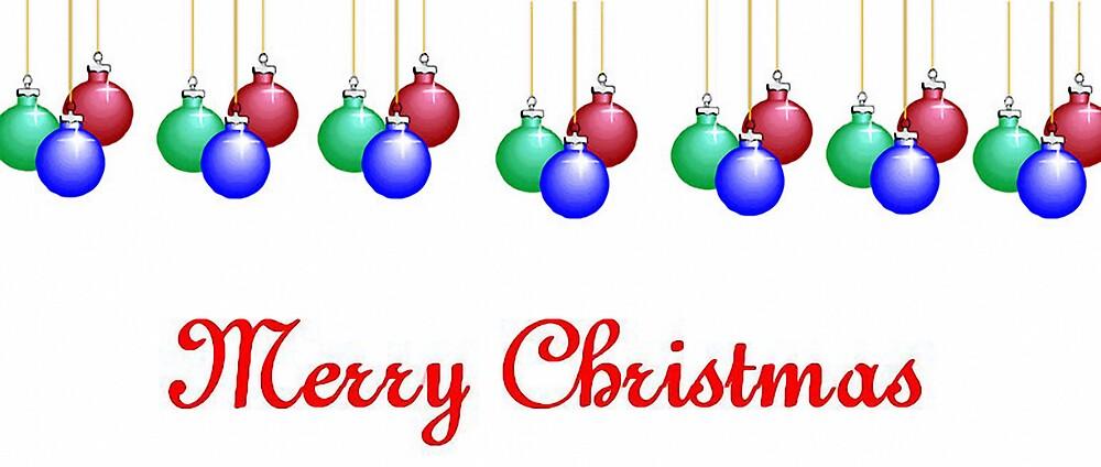 merry christmas card by brandie