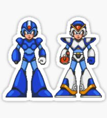 Blue And White Suits Sticker