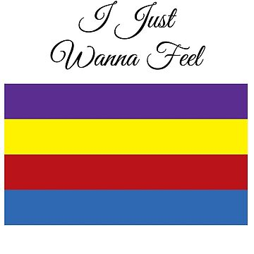 Purple, Yellow, Red, and Blue by Jay5
