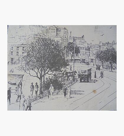 Torquay 1910. Photographic Print