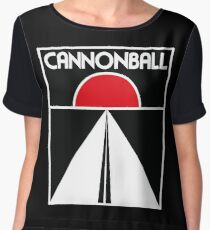 Cannonball Run Chiffon Top