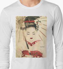 Geisha Langarmshirt