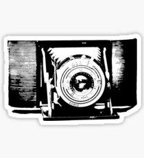 Old fashioned camera Sticker