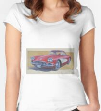 Chevy 1960 Women's Fitted Scoop T-Shirt