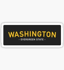 Washington 2 Sticker