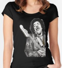 Jimi Women's Fitted Scoop T-Shirt