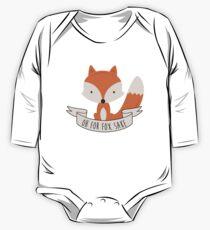 Oh für Fox Sake Baby Body Langarm