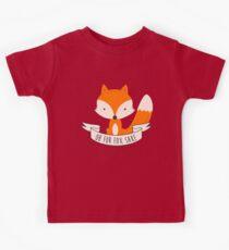 Oh For Fox Sake Kids Tee