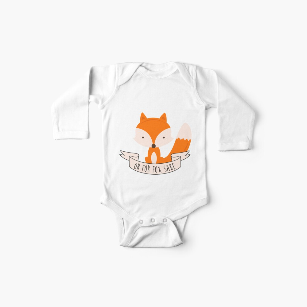 Oh For Fox Sake Baby One-Piece