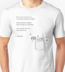 Rupi Kaur - Easy To Be Kind Unisex T-Shirt