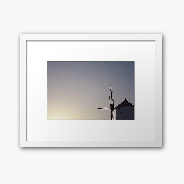 Windmill Framed Art Print