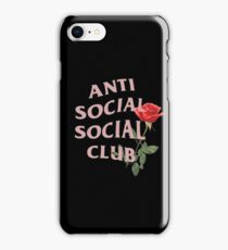 ASSC with Rose iPhone Case/Skin