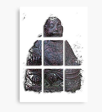 budha cubed ?  Metal Print