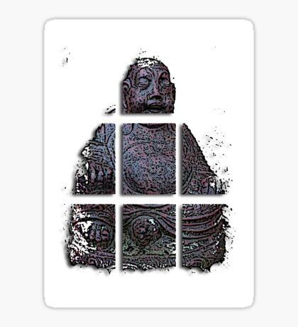 budha cubed ?  Sticker