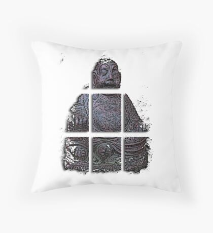 budha cubed ?  Throw Pillow
