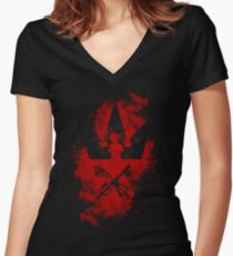 KH in our hearts Women's Fitted V-Neck T-Shirt