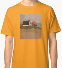 Scenic Tshirt Landscape Retro Colors Classic T-Shirt