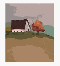 Scenic Tshirt Landscape Retro Colors Photographic Print