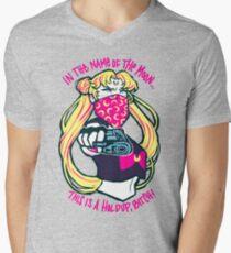 Thug Usagi. Men's V-Neck T-Shirt