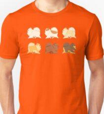 Pomeranian Parade Unisex T-Shirt