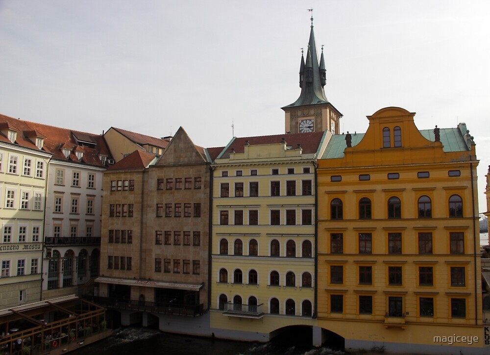 Architecture in Prague by magiceye