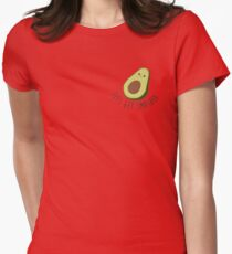Lets Get Smashed - Avocado  Womens Fitted T-Shirt