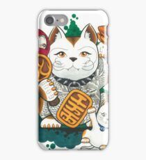 Tattooed Lucky Cat iPhone Case/Skin