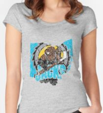 Cleveland Lumberjacks Women's Fitted Scoop T-Shirt