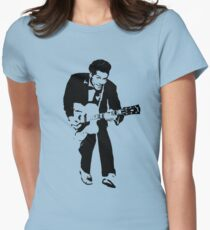 Chuck Berry Womens Fitted T-Shirt