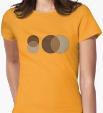 Simple Design Tshirt Circles Retro Vintage colors T-Shirt