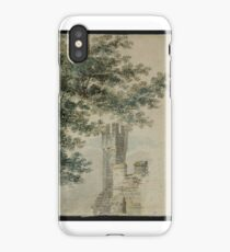 Joseph Mallord William Turner    Study of Foliage and a Turret at Battle Abbey, after Michael Angelo Rooker iPhone Case/Skin