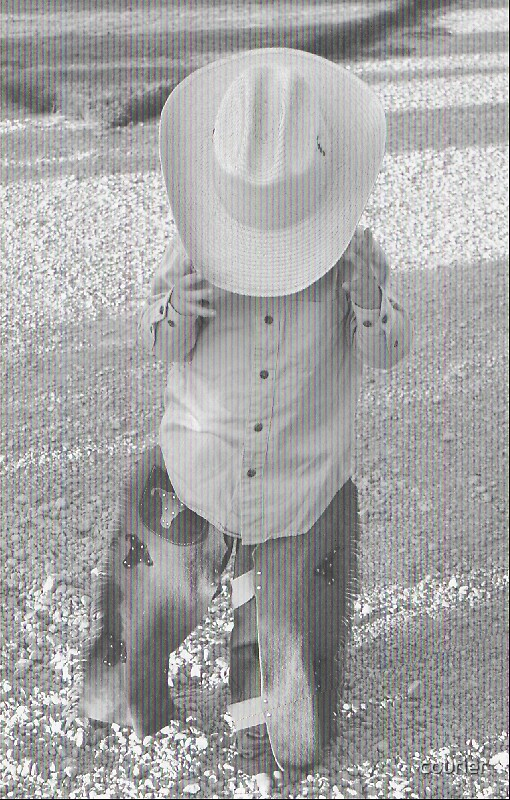 Barefooted Cowboy by courier