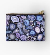 Agate crystals Studio Pouch