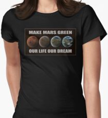 Make Mars Green T-Shirt