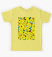 Daffodils spring floral pattern  Kids Tee