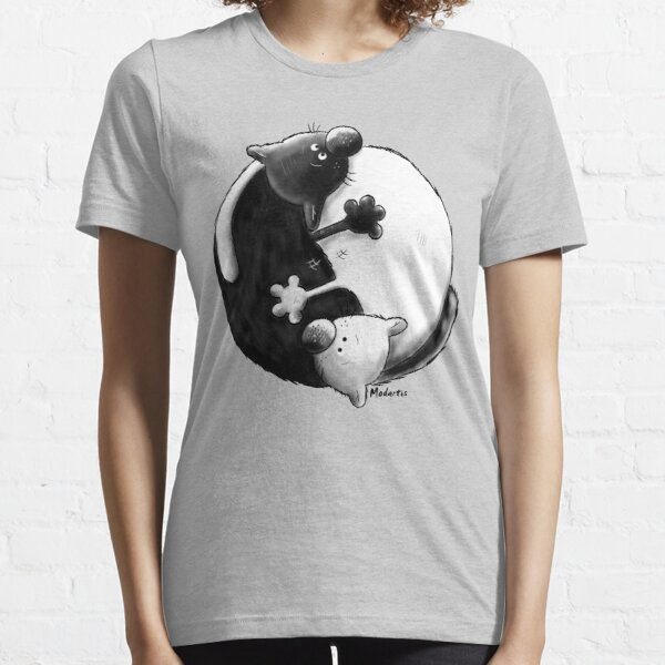 Yin and Yang Cats Essential T-Shirt