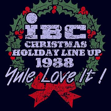 IBC Christmas Line Up by Robiberg