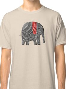 Red and Black Elephant Classic T-Shirt